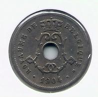 LEOPOLD II  * 5 Cent 1904 Frans * Nr 5208 - 1865-1909: Leopold II