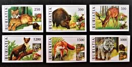 EMISSION LOCALE - REPUBLIQUE DE BOURIATIE - ANIMAUX SAUVAGES 1995 - NEUFS  ** - PH BOU 014 - NON-DENTELES - 1992-.... Fédération