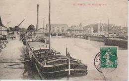 54.NAN3 - NANCY , Péniche , Un Bassin Du Canal - Nancy