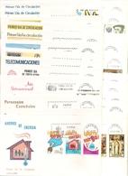1979-ED. 2508 A 2557 -AÑO COMPLETO EN S.P.D. DEL SERVICIO FILATÉLICO DE CORREOS ( S.F.C. ) 30 SOBRES - FDC