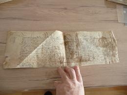 Pièce Sur Velin Cabinet D'Hozier Le Puy En Velay Lieutennt Rieu Henry III Martel De Beaurepaire - Manuscritos