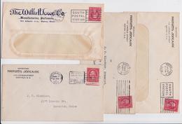 PARFUMS JONCAIRE BOSTON MANUFACTURING PERFUMERS PERFUMER PUBLICITE PUB PARFUM LOT OF 4 ADVERTISING COVERS 1920'S - United States