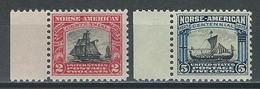 USA Sc 620-21, Mi 298-99 ** MNH - Unused Stamps