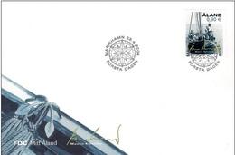 Aland 2004 FDC - Ship - Fishing - Aland