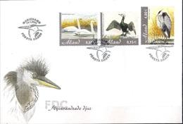 Aland 2005 - FDC - Birds - Newly Immigrated Bird Species - Aland