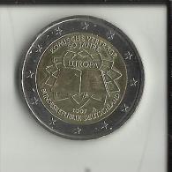 Allemagne - 2 Euros Commémorative - 2007 - Traité De Rome - Atelier A.  (Pièce Neuve)  (2 Scans) - [10] Commémoratives