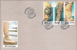 Aland 2006 FDC - Tattoos - Aland