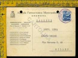 Cremona Città Recapito Autorizzato Repubblica Democratica - Cremona