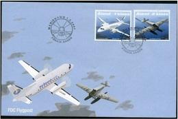 Aland 2007 - FDC Postal Transport By Air - Aland