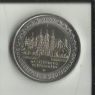 ** 2 EUROS COMMEMORATIVE ALLEMAGNE 2007 Lettre J. PIECE NEUVE **  (2 Scans) - [10] Commémoratives