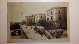 Civitavecchia - Viale Della Vittoria - 1921 - Viaggiata - Civitavecchia