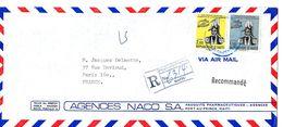 Lettre, Cover Haiti Vers La France - Haïti