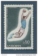 """Andorre YT 201 """" Handball """" 1970 Neuf** - Nuovi"""