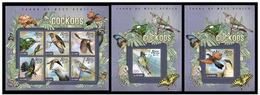 Sierra Leone 2015 Fauna Birds Cuckoos Klb + 2 S/s MNH - Cuckoos & Turacos
