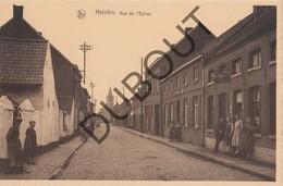 Postkaart/Carte Postale HELKIJN/HELCHIN Rue De L'Eglise (O112) - Spiere-Helkijn