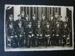 2. WK., Original Foto, Fotokarte, Gruppenfoto 3 EK 1 Träger Und Andere Orden, Lehrkörper Der Zollschule, Berlin 1938 !!! - Dokumente