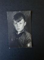 "2. WK., Original Foto, HJ Hitlerjugend Pimpf, Aufnäher "" Ostberlin "" - Dokumente"