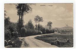 KEMMEL  -  Paysage (met Molen) - Heuvelland