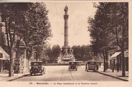 13 /MARSEILLE / PLACE CASTELLANE ET FONTAINE CANTINI - L'Estaque