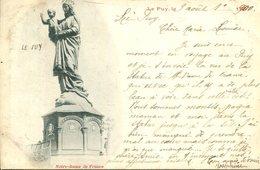 006621  Le Puy - Notre-Dame De France  1900 - Le Puy En Velay