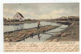 Courtrai  Le Rouissage Du Lin 1901 - Kortrijk