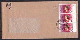 New Zealand: Cover, 1988, 3 Stamps, Philatelic Society, Philately, Queen (traces Of Use) - Nieuw-Zeeland
