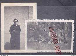 Au Plus Rapide Chantier De Jeunesse Football Homme Torse Nu Très Bon état - 1939-45