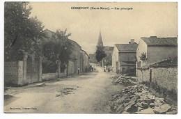 RENNEPONT 1914 RUE ANiMée Hte MARNE Maranville Châteauvillain Joinville Chaumont Bourbonne Les Bains Langres St Dizier - Autres Communes