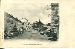 006627  Tence - Rue De Saint-Agrève  1902 - Sonstige Gemeinden