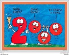 A250/147 Bonne Année 2000 - Fantaisies