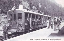 74 - Haute Savoie - Voitures Electriques Du Train MARTIGNY - CHAMONIX - RARE - Chamonix-Mont-Blanc