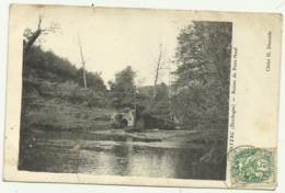 Belle Cpa PAYZAC (Dordogne) . Ruines Du Pont.Neuf - Autres Communes