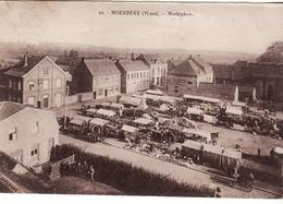 MOERBEKE WAES MARKTPLEIN  MARKT JOUR DE MARCHE - Moerbeke-Waas