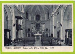 Marino Laziale - Interno Della Chiesa Della S:S: Trinità - Italia