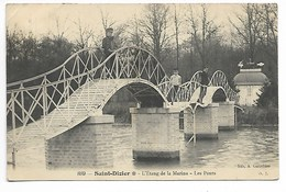 SAINT DIZIER 1908 ETANG MARINA Près Wassy Montier En Der Eclaron Soulaines Dhuys Joinville Chaumont Langres Bourbonne - Saint Dizier