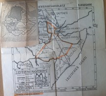 Carta Geografica - Il Teatro Di Guerra Abissino - Germania 1935 - Altre Collezioni