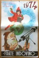 Calendario Frate Indovino 1974 - Edizione Per La Sardegna - Cappuccetto Rosso - Altri