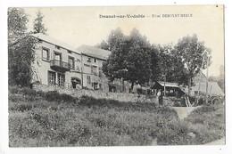 DAUZAT Sur VODABLE  (cpa 63)  Hôtel DIMOYAT - MERLE   ## Très RARE ##   -  L 1 - Francia