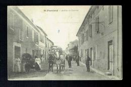 CPA 31 - Saint Plancard - L'Arrivée Du Courrier - 1911 - Autres Communes