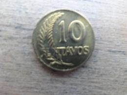 Perou  10  Centavos  1965  Km 224.2 - Pérou