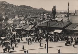 BOSNIE  SARAJEVO  BASCARSIJA THE OLD TURKISH MARKET - Bosnia Erzegovina