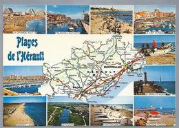 FR.- PLAGES DE L'HERAULT - Frankrijk
