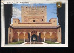CPM Espagne GRANADA Alhambra Patio De Los Arrayanes - Granada