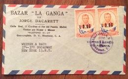 POSTA AEREA PAR AVION  HONDURAS  U.S.A.   FROM COMAYAGUA  TO NEW YORK   THE  11/8/64 - Honduras