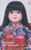 Télécarte Japon / NTT 250-085 - Jeu Jouet POUPEE TBE - YOKOHAMA DOLL MUSEUM - Toy Japan Phonecard - Jeux