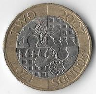 United Kingdom 2007 £2 Act Of Union [C725/2D] - 1971-… : Decimal Coins