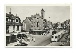 Avenue De La Mer, La Panne. Zeelaan, De Panne. - De Panne
