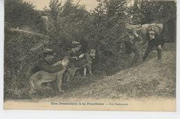 METIERS - DOUANIERS - Nos Douaniers à La Frontière - Une Embuscade (carte Postée à GIVET En 1913 ) - Métiers