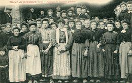 GREVE De GRAULHET (TARN)  - GROUPE De FEMMES GREVISTES  - - Grèves