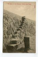 Old Steps At Cobb (Granny's Teeth) Lyme Regis - England